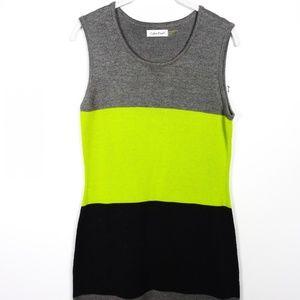 Calvin Klein Women's Sweater Dress Sleeveless